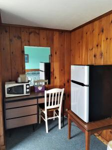 A television and/or entertainment center at Bass River Motel