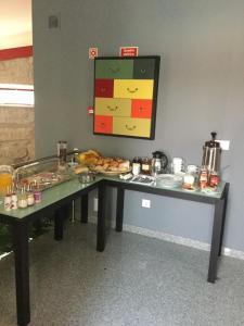 A cozinha ou kitchenette de Casa do Lagar de Tazem