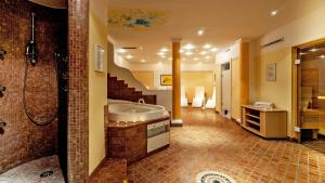 Ein Badezimmer in der Unterkunft Appartementanlage Kerber
