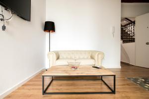 A seating area at Casa Olivera