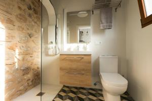 A bathroom at Casa Olivera
