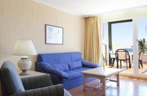 Zona de estar de Vera Playa Club Hotel
