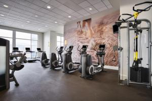 The fitness center and/or fitness facilities at The Westin Virginia Beach Town Center