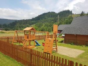 Herní místnost nebo prostor pro děti v ubytování Apartmány Podťaté
