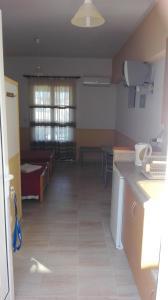A kitchen or kitchenette at Stelios Studios