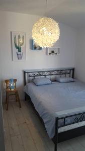Postel nebo postele na pokoji v ubytování Pinta