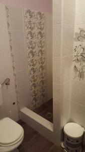 Koupelna v ubytování Pinta