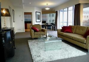 A seating area at One Darling 109
