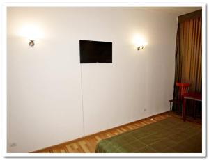 Телевизор и/или развлекательный центр в Hotel Raduga