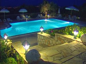 A view of the pool at Anatoli Labreon or nearby