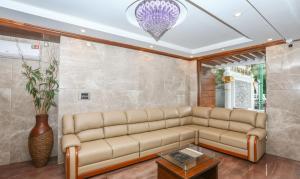 A seating area at Treebo Trend Durga Bhoji Grand,Coorg