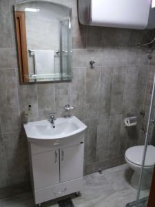 Kupatilo u objektu KULA Boutique Hotel
