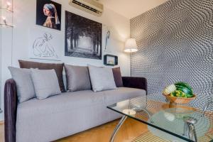 Ein Sitzbereich in der Unterkunft Michal&Friends Prague 1 SUNNY APT with terrace