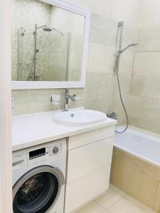 Ванная комната в Apartments Ideal House