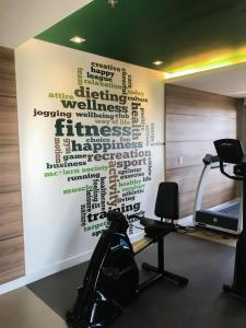 The fitness center and/or fitness facilities at Mercure São Caetano