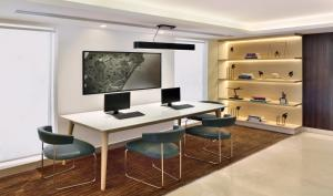 A television and/or entertainment centre at Fairfield by Marriott Chennai OMR