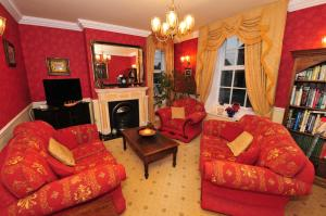 A seating area at Ashtree House Bed and Breakfast