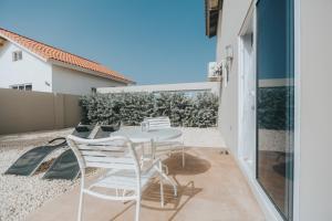 A balcony or terrace at Ayka Apartments Bubali