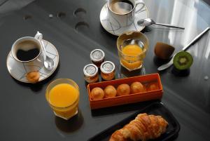 Možnosti snídaně pro hosty v ubytování The Sleeping Lion