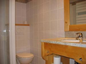 A bathroom at Studio Forclaz