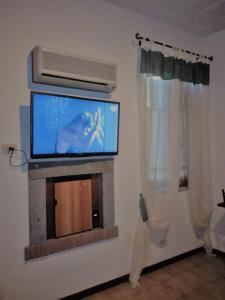 TV o dispositivi per l'intrattenimento presso B&B La Quercia