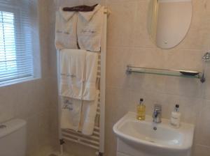 A bathroom at Bure Lodge