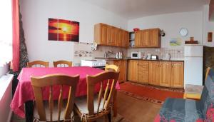 O bucătărie sau chicinetă la Apartment Janka Demanova