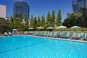 The swimming pool at or near Grand Hyatt Atlanta in Buckhead