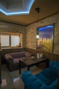 Гостиная зона в Гостевой дом Шале