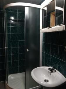 A bathroom at Holiday home Lancedor