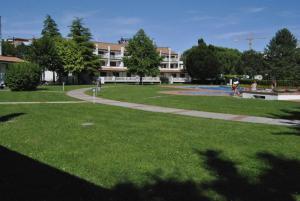Zahrada ubytování Residence Selenis