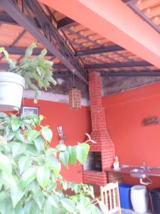 A restaurant or other place to eat at Hotel Gaucha