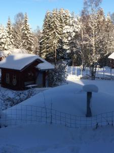 Kullsbjörken Bed & Breakfast during the winter