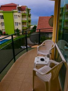 Балкон или тераса в Хотел Ривиера