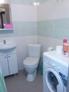 A bathroom at Apartment Radiotsentr-5 dom 16