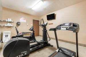 The fitness center and/or fitness facilities at Hawthorn Suites Las Vegas