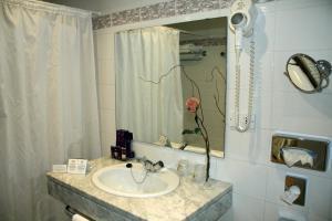 Een badkamer bij Parador de Vic-Sau