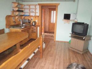 Кухня или мини-кухня в Na gorbochku u Natali
