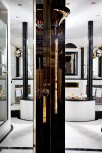 A bathroom at Savoy Berlin