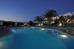 The swimming pool at or close to Eri Hotel