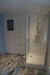 Ein Badezimmer in der Unterkunft Ostetal