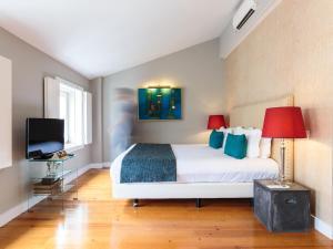 Un ou plusieurs lits dans un hébergement de l'établissement Dear Lisbon - Charming House