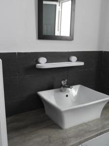 A bathroom at Appartement Dar Sébastian- Hammamet