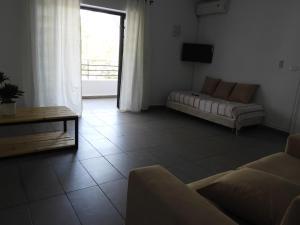 A seating area at Appartement Dar Sébastian- Hammamet