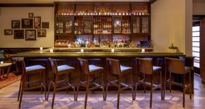The lounge or bar area at Hotel Adeline
