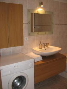 Koupelna v ubytování Stelius Wien
