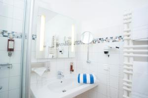 Un baño de Strandhaus am Inselsee