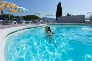 The swimming pool at or near Park Hotel Suisse
