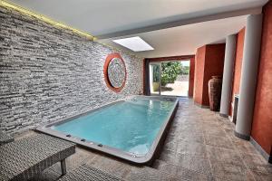 The swimming pool at or near La Chambre d'Hote du Partégal