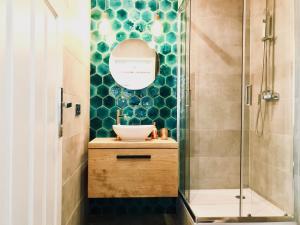 A bathroom at Marine Sopot - SG Apartamenty